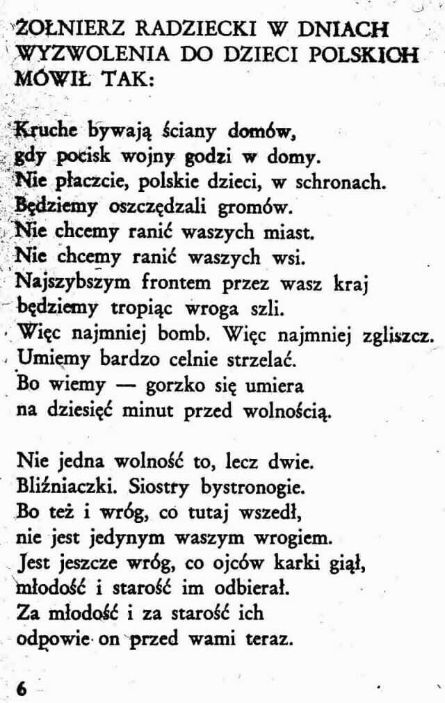 Szymborska Wiersze